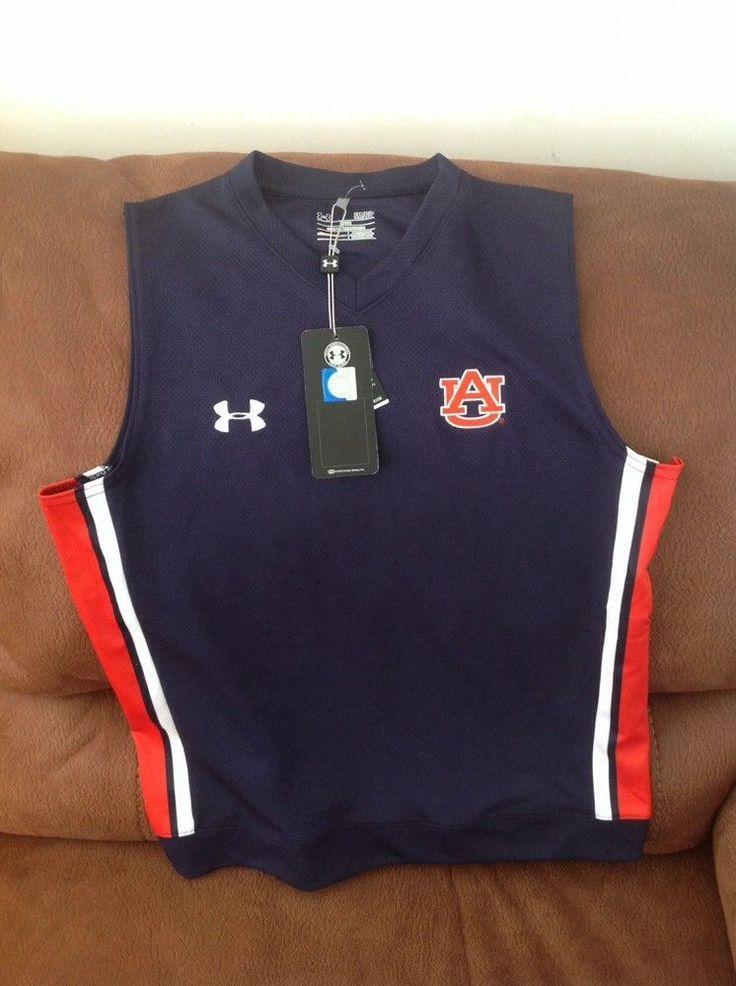 auburn tigers under armour ncaa football basketball Vest NWT size S mens | Sports Mem, Cards & Fan Shop, Fan Apparel & Souvenirs, College-NCAA | eBay!