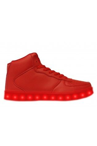 Led Shoes HI Top Woman