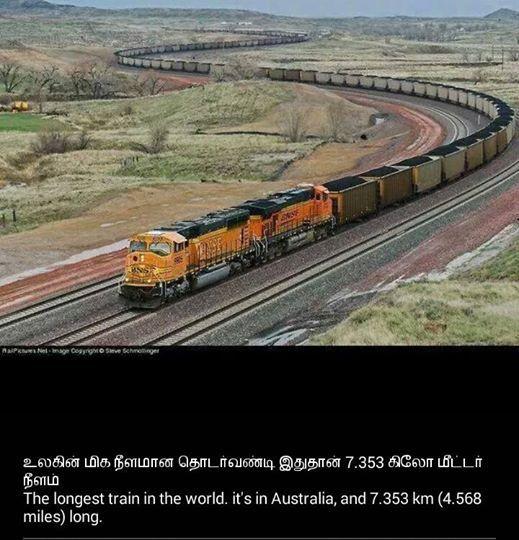 Longest Train-Australia