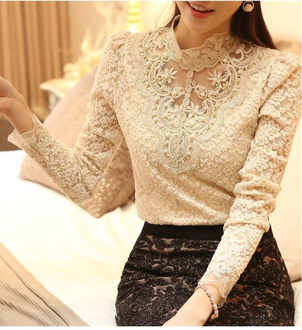 nova primavera verão 2014 mulheres crochet top de chiffon blusa camisa camisa vintage blusas femininas plus size US $13.59