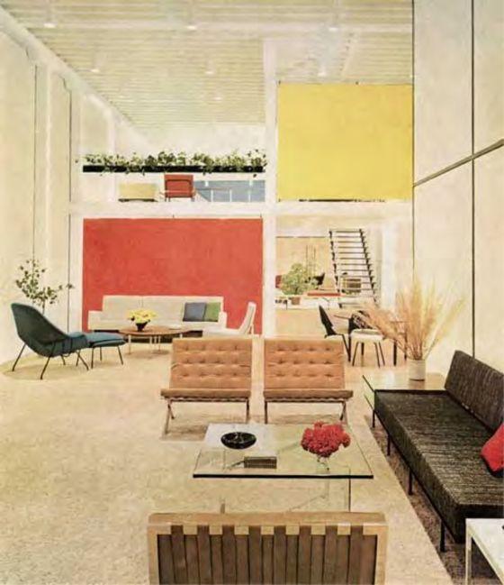 Home Decor Of The 1950's. Pinned by Secret design Studio, Melbourne. www.secretdesignstudio.com