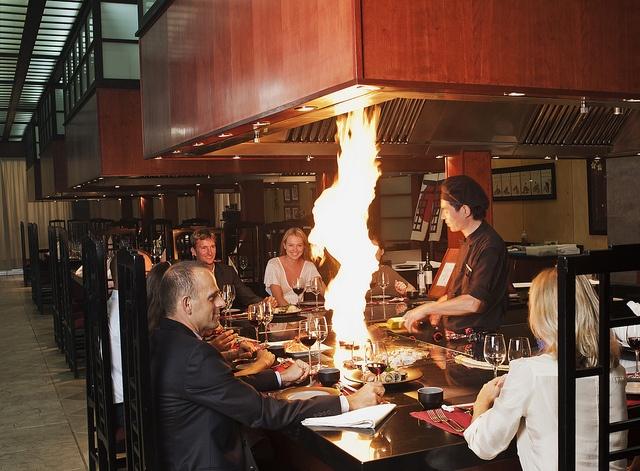 Kampai, Japanese restaurant