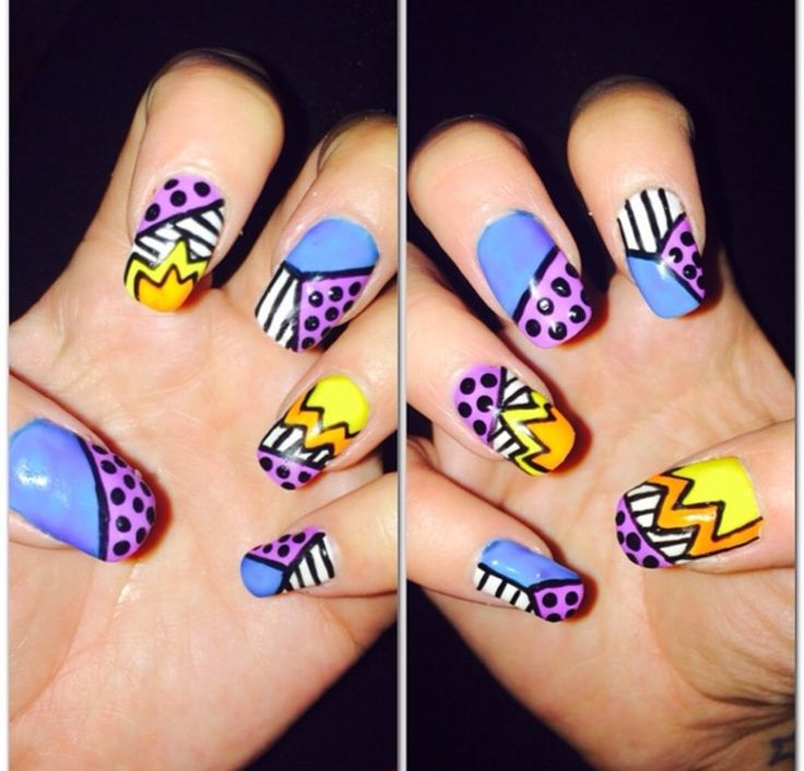 56 best Nails art style images on Pinterest   Nail art designs, Nail ...