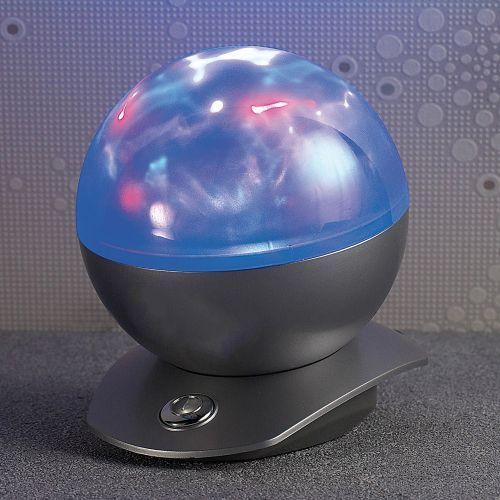 Der sphärische Laser Projektor mit Polarlicht zaubert ein sanftes Farbenspiel an Wand und Decke: Die Kugellampe ist ideal zum Entspannen daheim!