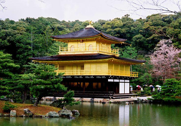 'The Golden Pavilion',Kinkakuji, Kyoto, Japan
