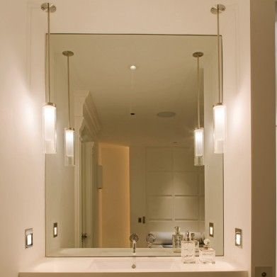 Bathroom Lighting Side Of Mirror 167 best lighting images on pinterest | pendant lights, lighting