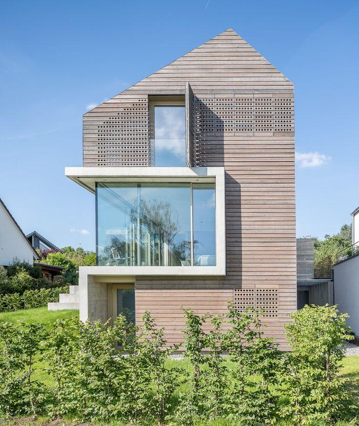 154 besten wood facades bilder auf pinterest holzfassade. Black Bedroom Furniture Sets. Home Design Ideas