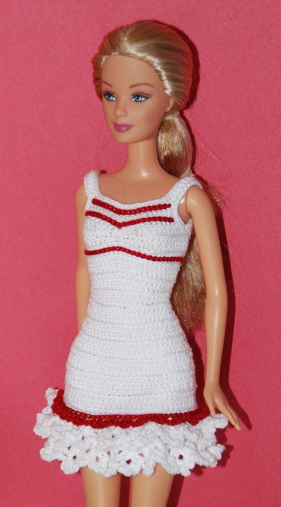 17 b sta bilder om virkat barbie p pinterest virkning for Barbie wedding dresses for sale