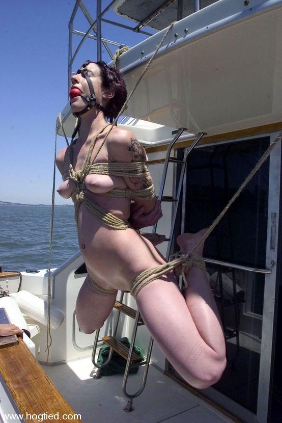 bondage on a boat