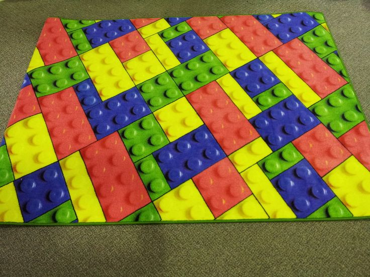 Lego small rug  Lego Theme Classroom  Kids rugs Lego bedroom Rugs