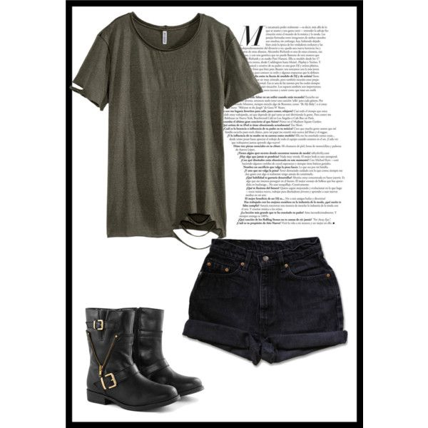 Untitled #6 by zuzulica on Polyvore featuring H&M and Levi's