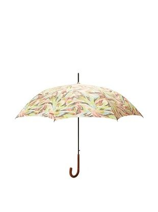 Missoni Women's Piume Long Stick Umbrella, Lime/Pink