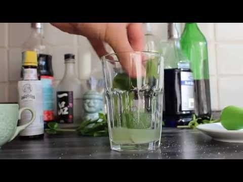 Mojito cocktail: la ricetta originale cubana - YouTube