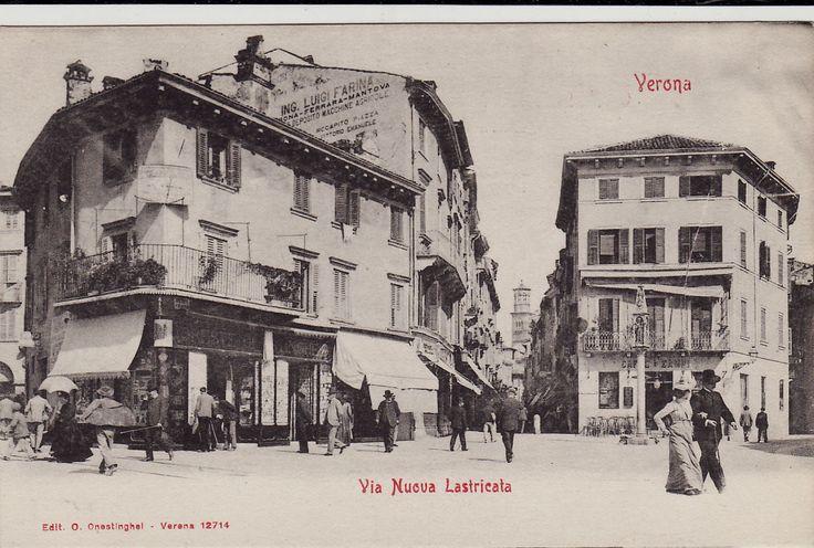#verona: Via Nuova Lastricata