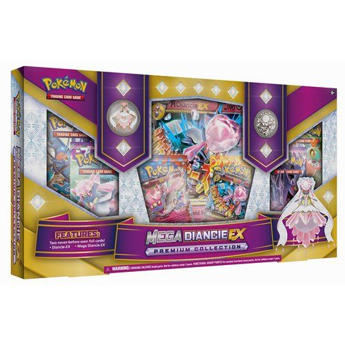 Pokemon - 331810 - Jeu De Cartes - Mega Diancie Ex Premium Collection - C12: Amazon.fr: Jeux et Jouets