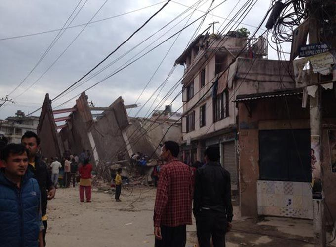 Thereport24.com Desk:  An earthquake measuring 7.9 magnitude has struck 80 km east of Pokhara in Nepal about half way between the town and the capital Kathmandu, Al Jazeera reports quoting the US Geological Survey.  Nepal\\\\\\\\\\\\\\\\\\\\\\\\\\\\\\\'s Information Minister Minendra Rijal told India\\\\\\\\\\\\\\\\\\\\\\\\\\\\\\\'s NDTV that there are reports of damage in and around Kathmandu but no immediate word on casualties.  He said rescue teams were responding.  Reuters cited…