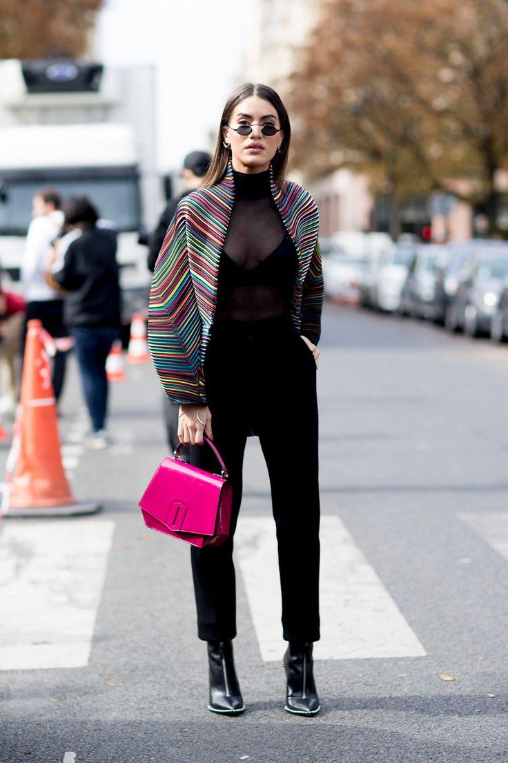 Paris Fashion Week Street Style Spring 2018 Day 4