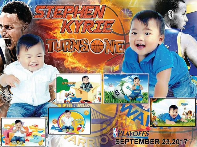 Nba Birthday Tarpaulin Template For First Birthday Birthday