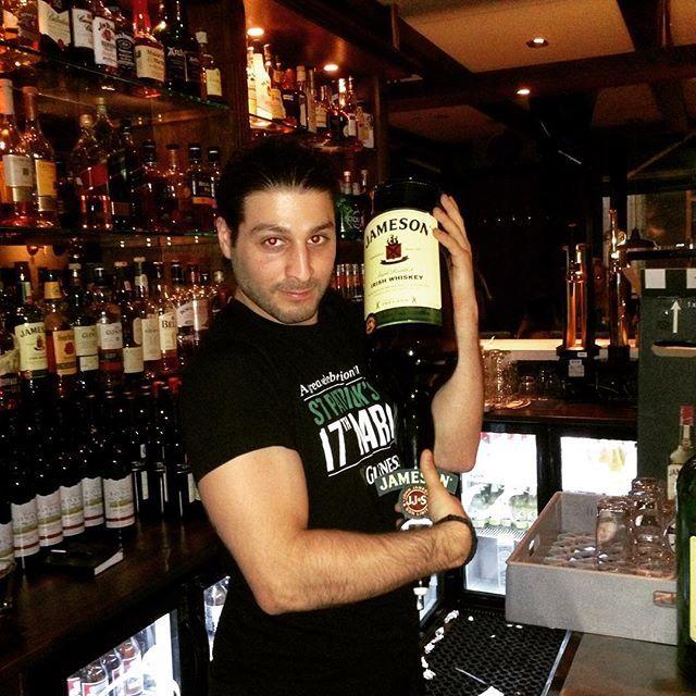 Yeah, we love #jameson #whiskey  #irishpub #irish #bar #friday #goodfriday #gladpåsk #långfredag #stockholm #pub #bottles #fridaydrink