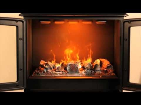 ▶ Dimplex Oakhurst -- Opti-myst 3D electric stove - YouTube