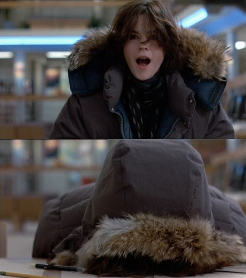 Ally Sheedy as Allison Reynolds in The Breakfast Club.