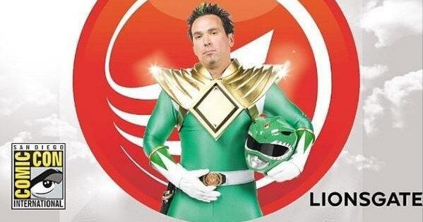 'Power Rangers' Movie Footage to Debut at Comic-Con 2014? -- Jason David Frank, who played The Green Ranger on the original hit TV series, 'Power Rnagers', revealed that he is making a special appearance with Lionsgate and Saban Entertainment at SDCC. -- http://www.movieweb.com/news/power-rangers-movie-footage-to-debut-at-comic-con-2014