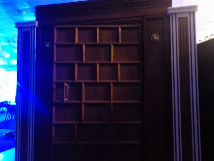 The Narnia wardrobe entrance to the ball