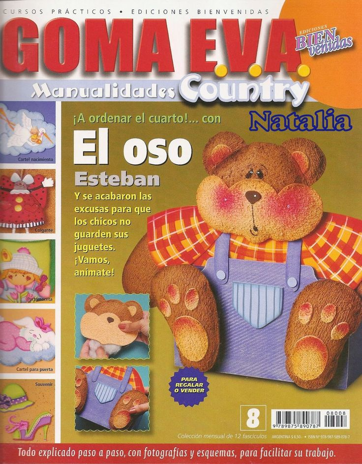 Revistas de manualidades Gratis: foamy