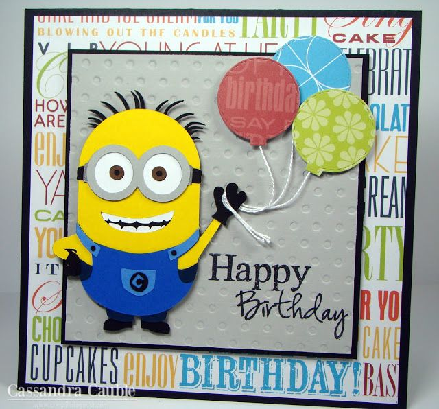 87 best boys birthday cards images – Minion Happy Birthday Card