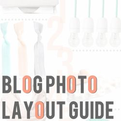 Photo Layout Design for Blog Posts- beautiful layouts and lots of inspirations for anything...not just blogs!
