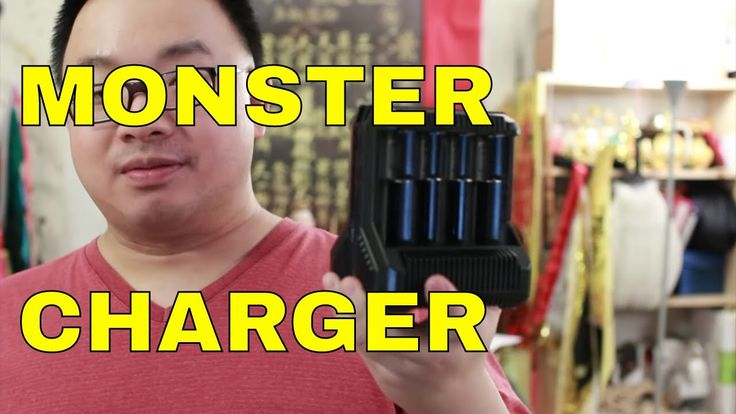 Nitecore Intellicharger i8 - Monster Charger for Serious Flashaholics Re...