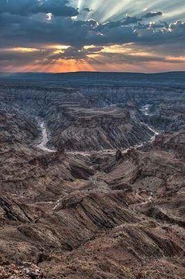 David Parker Photography: Fish River Canyon Namibia