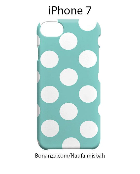 Tiffany Polka Dots iPhone 7 Case Cover Wrap Around