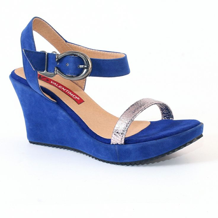 Valentino blue Wedges for summers in just @1199/-