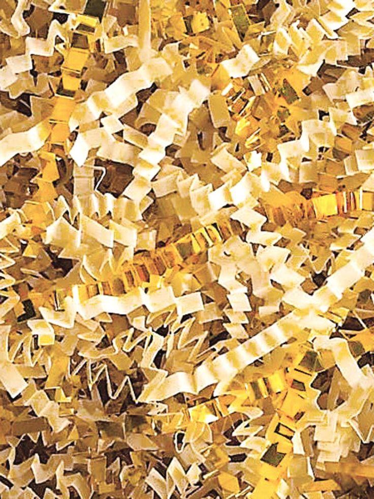 Pin on custom unique gift basket filler shredded paper