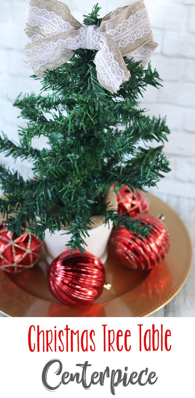 Dollar Tree Diy Christmas Tree Table Centerpiece Christmas Tree On Table Diy Christmas Tree Dollar Tree Diy