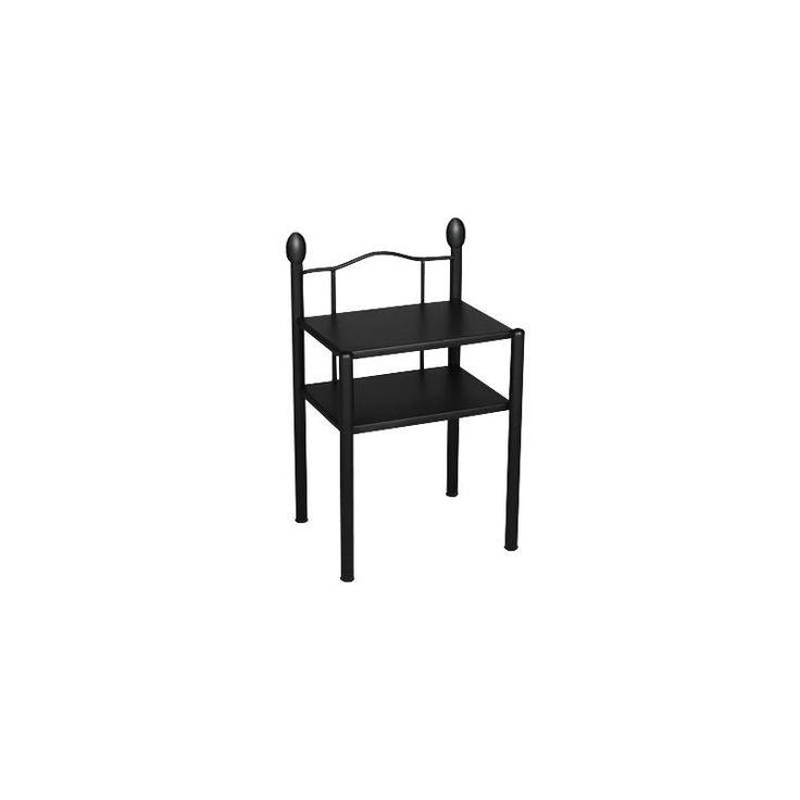 Nachttisch schwarz