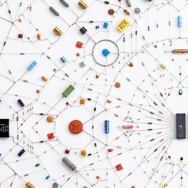 Technological mandala – Les créations de Leonardo Ulian