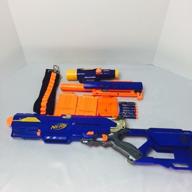 how to make a scope for a nerf gun