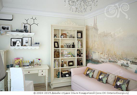 Дизайн интерьера детской в неоклассическом стиле on Дизайн интерьера квартир, фото…