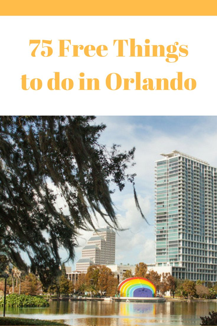75 FREE things to do in Orlando! Our biggest list EVER!