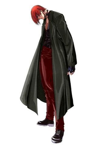 Outfit Vintage de Iori.  Aparece en KOF 2000 como Striker (Ayudante de Batalla).  © 2012 SNK PLAYMORE CORPORATION.