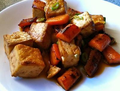 Glazed carrots, Tofu and Carrots on Pinterest
