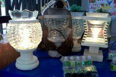 Membuat Lampu Aroma Terapi Dari Limbah Kaca