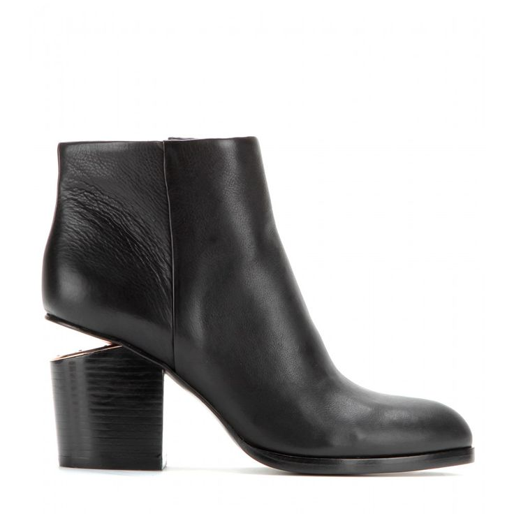 Gabi Leather Ankle Boots ✽ Alexander Wang ► mytheresa