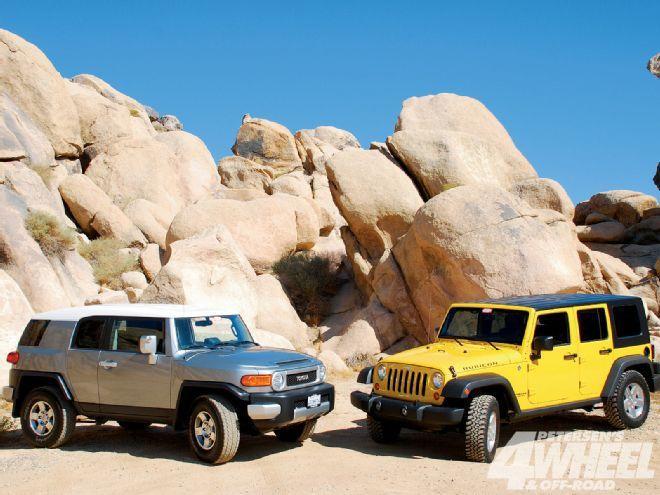 Best Fj Cruiser Vs Jeep Wrangler