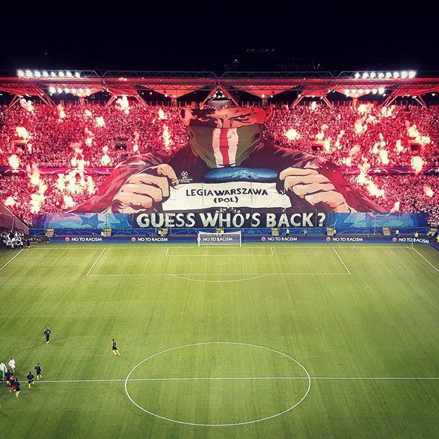 "Sebastian F on Twitter: ""Tonight #Legia Warsaw vs BVB #thechickenbaltichronicles…"