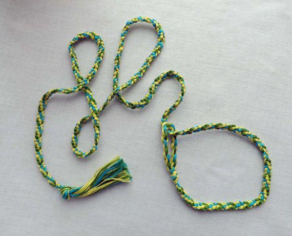Поводок для собаки, поводок для выставки собак, поводок для ринга, плетёный поводок, 100% хлопок, ручная работа