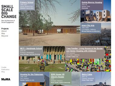 Small Scale, Big Change: New Architectures of Social Engagement (October 3, 2010–January 3, 2011)