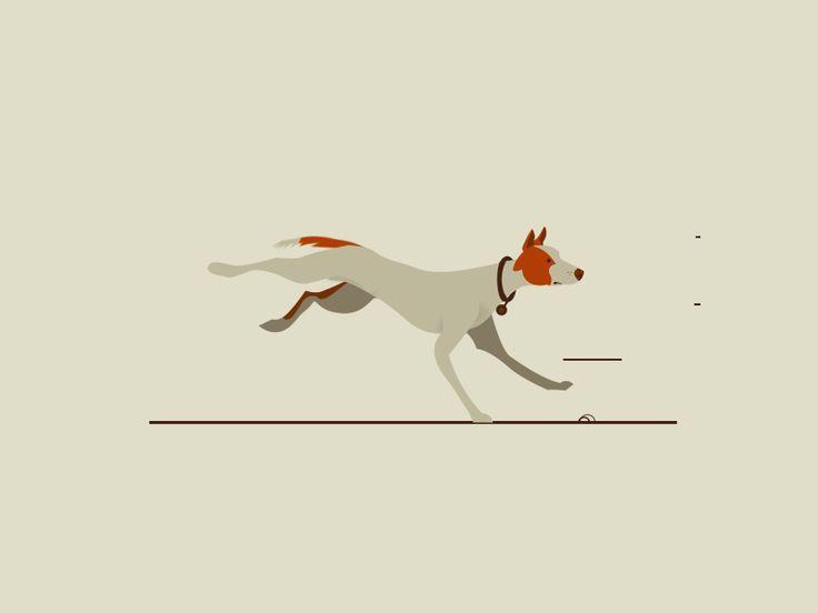 бегущая собачка гифка есть шанс что